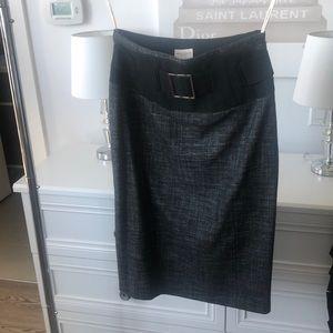 KAREN MILLEN England Pencil High Waisted Skirt, 6